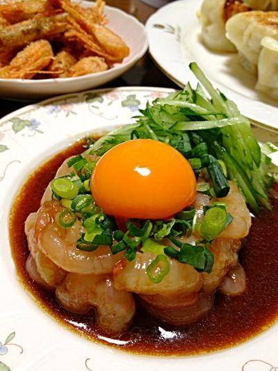 甘えびのユッケです☆ by ひまわりさん   レシピブログ - 料理ブログの ...