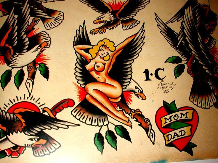 traditional tattoo flash wallpaper - photo #19