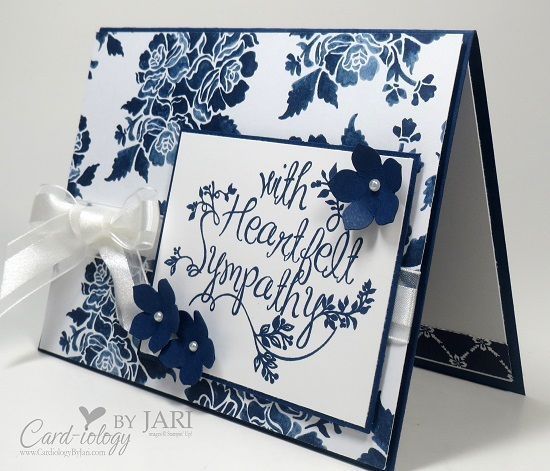115 best dsp floral boutique images on pinterest boutique stampin up heartfelt sympathy card iology by jari m4hsunfo Gallery