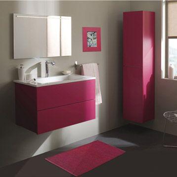 Meuble de salle de bains Cosmo, rose shocking n°3