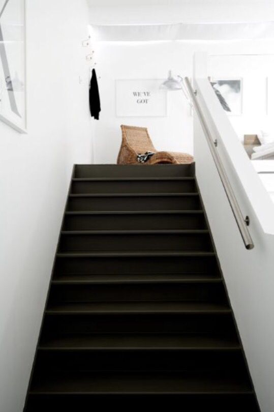 "This staircase is from our feature ""Industrial Evolution"""