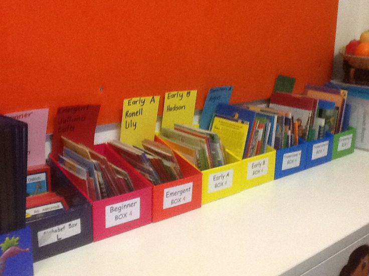 New reader box organisation have to get my head around it