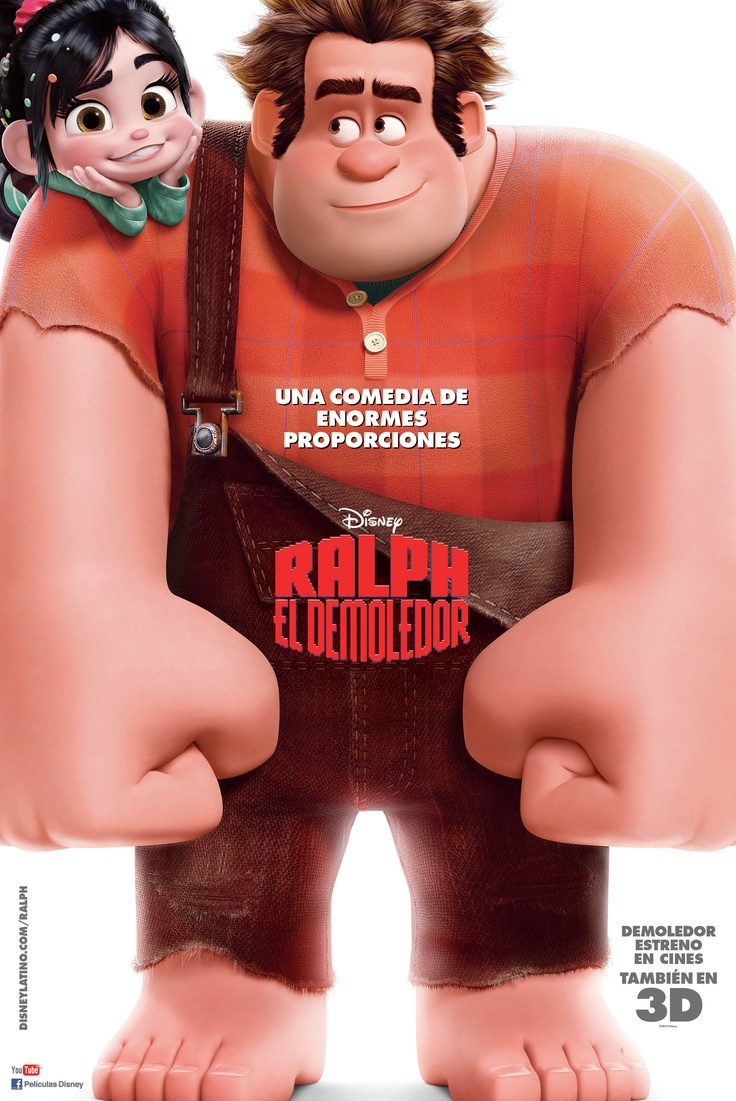 #Ralph #RalphElDemoledor #Disney #Movies #Venelope http://www.cinemania.co.cr/content/articles/997/1/Ralph-el-Demoledor--Wreck-it-Ralph-2012/Page1.html?utm_source=Pinterest_medium=Pin_campaign=Ralph