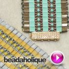 Tutorial - Video: How To Bead Weave a Cuff Bracelet Using Tila BeadsCuffs Bracelets, Beading Jewelry, Beads Tutorials, Beads Bracelets, Beads Cuffs, Tila Beads Beadaholique, Cuff Bracelets, Jewelry Beads, Beads Weaving