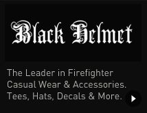 Firefighter Clothing & Accessories - Black Helmet