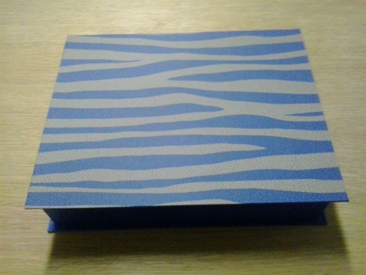 Caja Cebra azul by Antaño y Hogaño