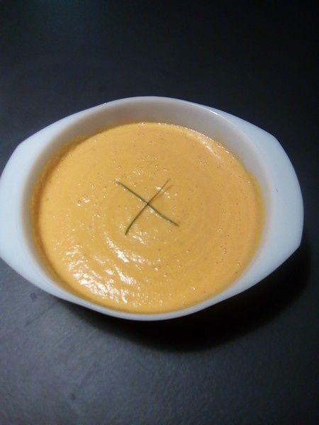 Velouté de carottes Saint Morêt (recette tupperware)