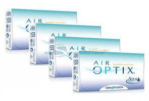 Zestaw soczewek AIR OPTIX™ AQUA 6 szt. x 4 op. - AIR OPTIX