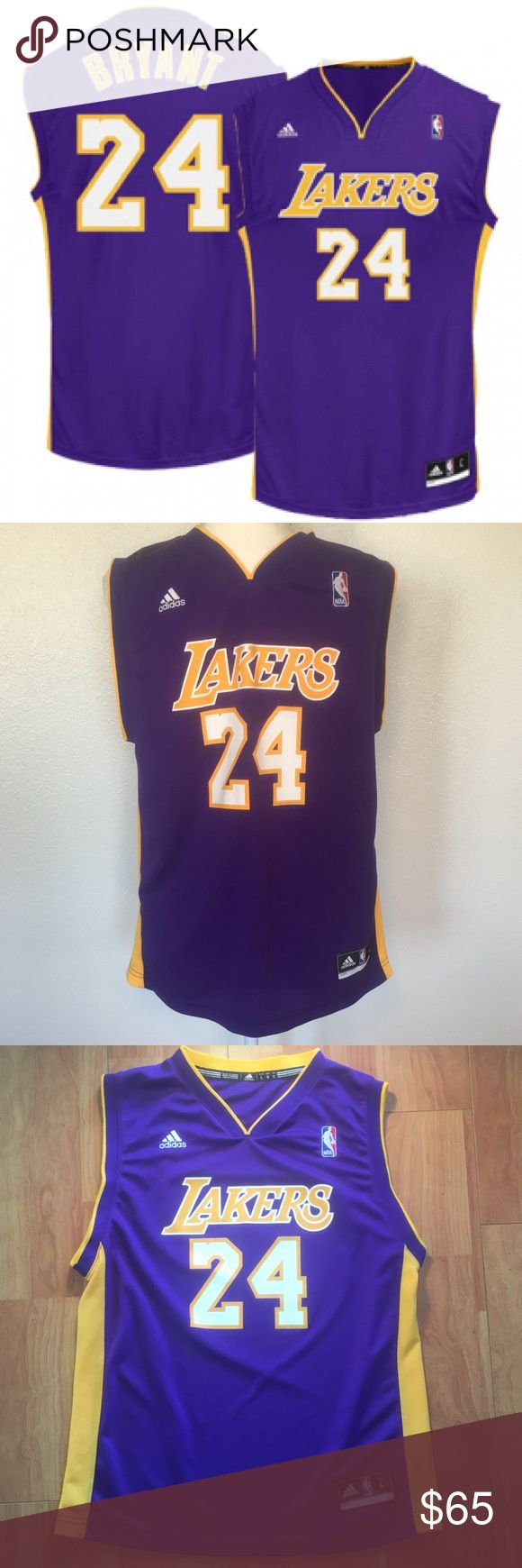 Lakers Kobe Bryant Adidas Swingman NBA Jersey. Youth Los Angeles Lakers Kobe Bryant Adidas Swingman NBA Jersey.  Celebrate your Los Angeles Lakers fandom with this Kobe Bryant Swingman  jersey from adidas. Everyone will know you come from a family of Los Angeles Lakers die-hards after they see the meticulous graphics on this jersey. adidas Other