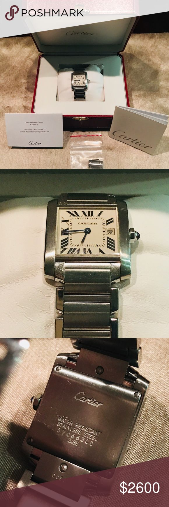 This new fish cleaning station was built in 2010 the stainless steel - Ladies Cartier Tank Francaise Ss Midsize 2465 Date Excellent Condition Ladie S Cartier Tank Francaise Midsize Stainless Steel 2465 Date Watch