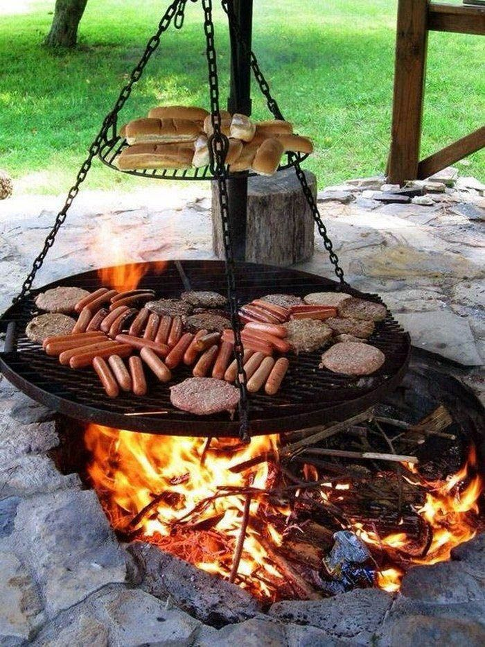 Unique Outdoor Fire Pit Cooking Accessories For Your Cozy Home Backyard Fire Fire Pit Backyard Outdoor Fire Pit