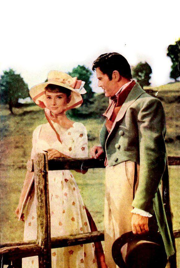Audrey Hepburn & Henry Fonda ~ War and Peace, 1956