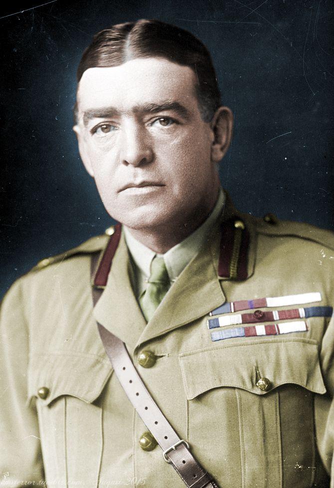 Sir Ernest Shackleton as a Major in the British Army, 1918Original