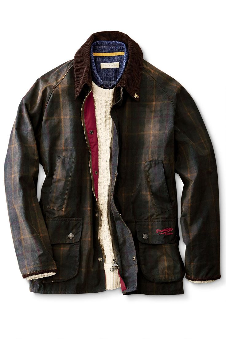 Heathland Waxed Cotton Jacket from John Partridge: Exceptional Casual Clothing for Men & Women from #TerritoryAhead $288.50