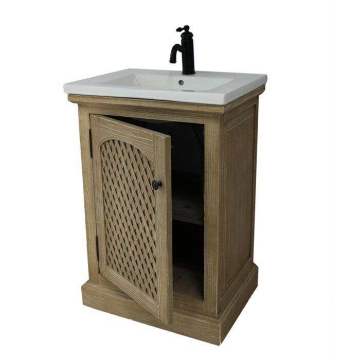 "Occoquan 24"" Single Bathroom Vanity Set"
