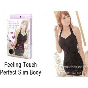 Feeling Touch Perfect Slim Body, Pakaian Yang Memiliki Efek Samping Melangsingkan Badan, Bokong & Dada Lebih Kencang Rp.120,000 - www.evoucher.co.id #Promo #Diskon #Jual  Klik > https://evoucher.co.id/deals/detail/feeling-touch-perfect-slim-body  Terbuat dari bahan yang nyaman dipakai, elastis mengikuti bentuk tubuh anda. Desain modern dan bisa anda kenakan sehari-hari. Bisa anda pakai sebagai pakaian dalam maupun sebagai pakaian luar.  pengiriman mulai 27-08-2014