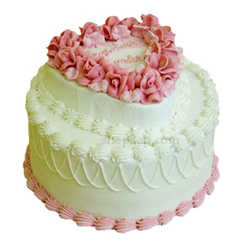 The Lovely cream cake is a 2-tier Vanilla cake (without cooling ) with rich cream decorated in the form of flowers. Pamper the person you love the most with this cake on birthday, wedding, engagement, anniversary or any other important event.Our shop2hyderabad.com offers home delivery service ensures that you get the cake on time; we also make special midnight delivery service.The lovely Cream Cake is a suitable gift for all occasions and is sure to add joy to the special moments.