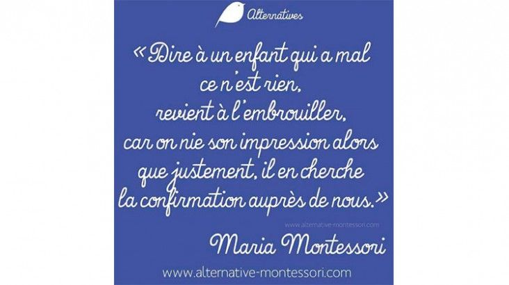 Ici Maria Montessori(Les bienfaits de l'éducation positive en 30 citations)