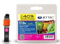 JetTec Epson T1623 Magenta Remanufactured Ink Cartridge The Epson T1623 Magenta remanufactured Ink Cartridge by JetTec - E16M cartridge is a JetTec branded remanufactured printer ink cartridge for Epson printers. They provide OEM style quality printing but http://www.MightGet.com/february-2017-3/jettec-epson-t1623-magenta-remanufactured-ink-cartridge.asp