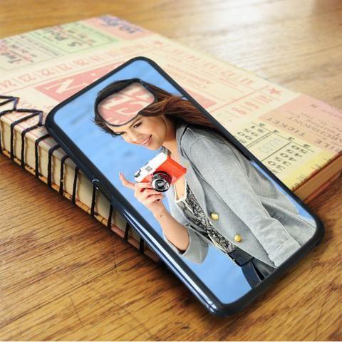 Selena Gomez Nice Smile Samsung Galaxy S7 Edge Case