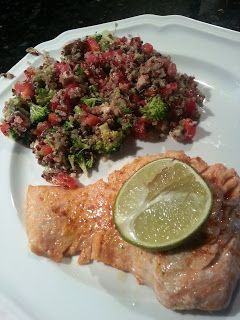 Chipotle Lime Salmon | Healthy lifestyle foods | Pinterest