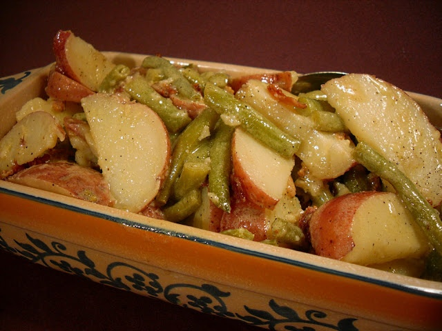 Comfy Cuisine: Green Bean & Potato Salad with Dijon Vinaigrette