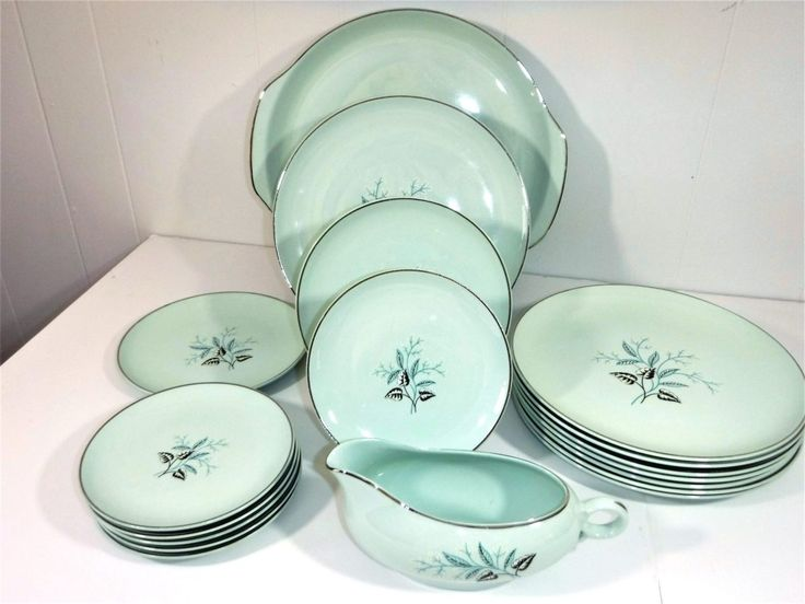 Universal Ballerina Mist Turquoise Oven Proof China