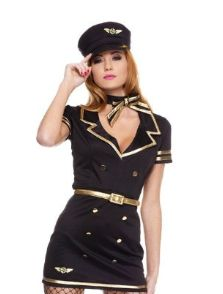 Top 10 Female Pilot & Flight Attendant Halloween Costumes!