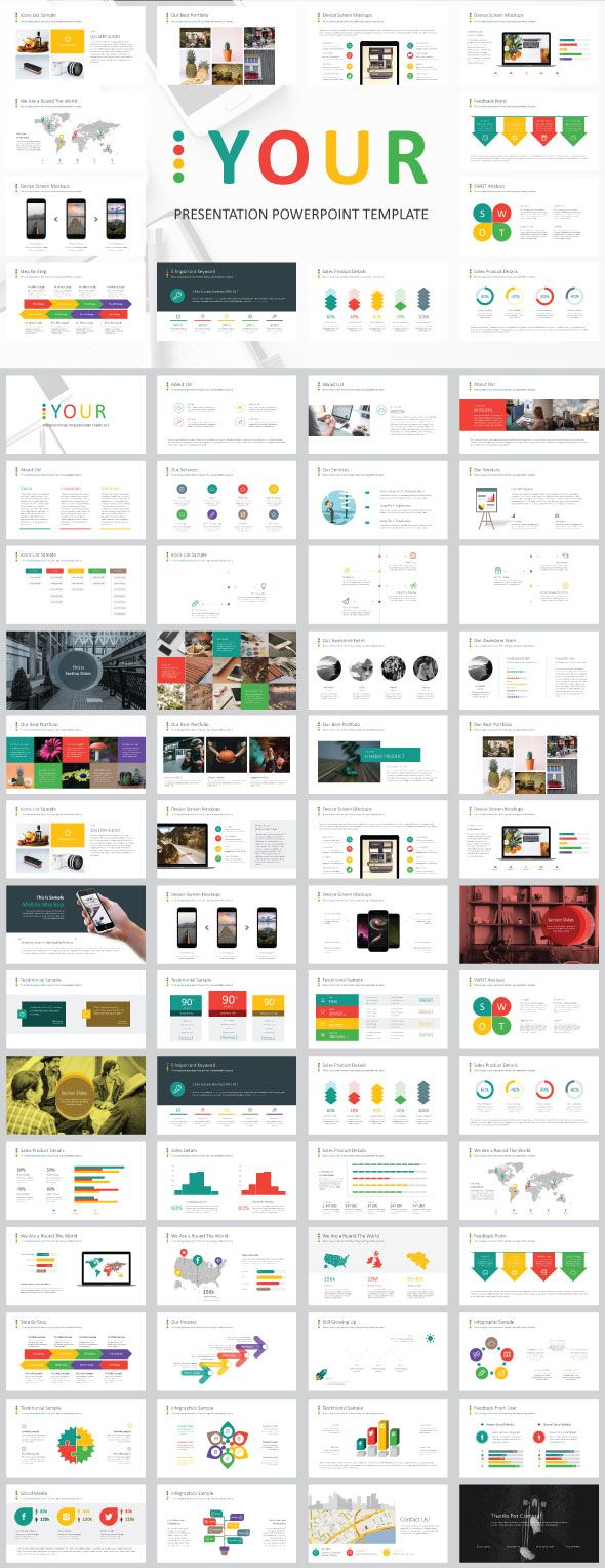 Your Powerpoint Presentation - PowerPoint Templates Presentation Templates