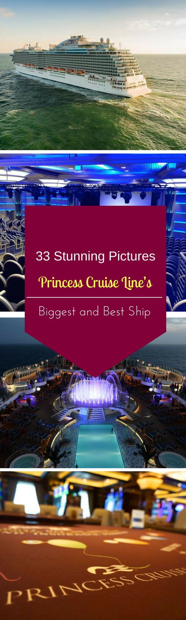 See 33 pictures of Princess's biggest and best cruise ship, the Royal Princess. #travel #traveling #travelphotography #traveller #travelblogger #backpack #backpacking #hiking #adventure #place #visiting #outdoor #beach #beachlife #resort #cruise #hotel #world #worldwide #worldtravel #beautifulplaces #travelpics #Picoftheday #destination