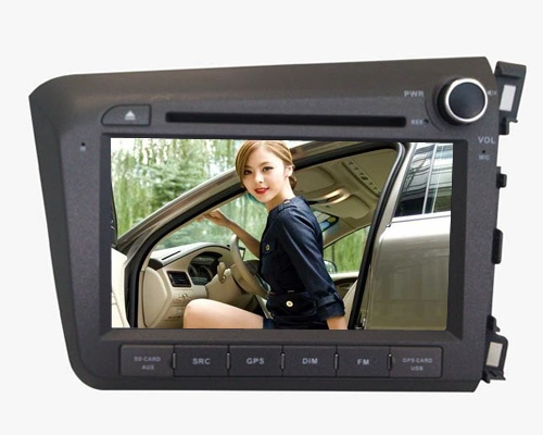 Car DVD Navigation for Honda Civic 2012 Right Hand Drive  $335.82
