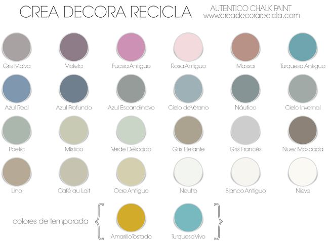 Crea Decora Recicla by All washi tape | Autentico Chalk Paint: Chalk Paint