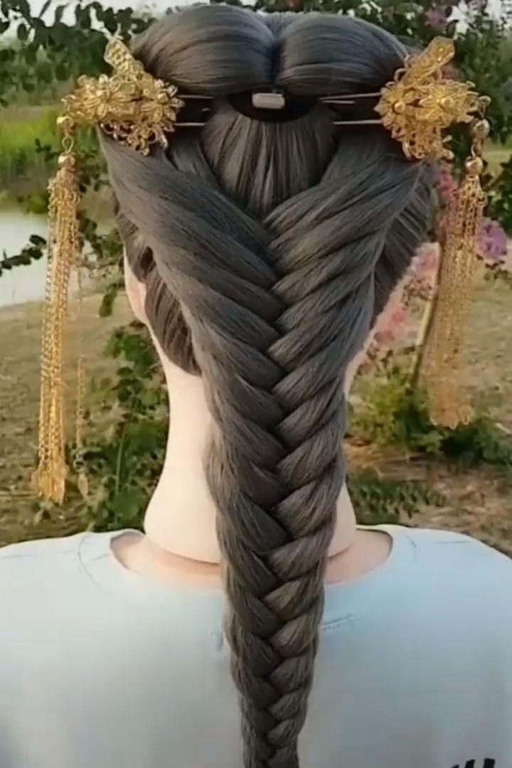 Very Beautiful Braided Hairstyles