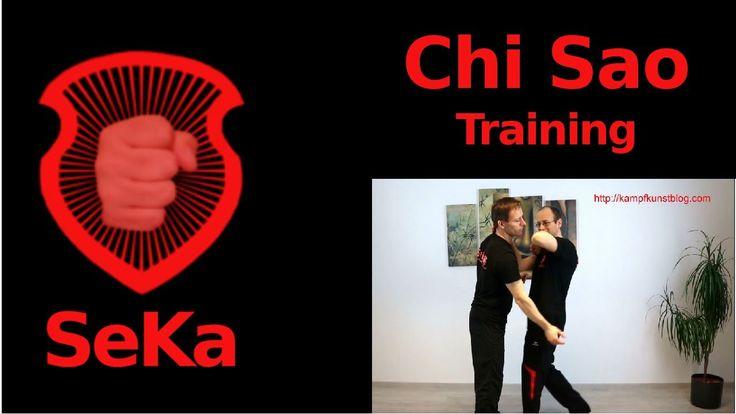 Chi Sao Training: Techniken aus dem ersten Satz Holzpuppe