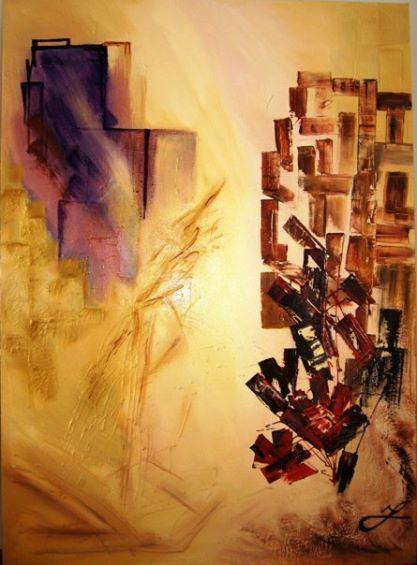 <<New York>> Dimensiones: 120 x 90 cm.  2009.  VENDIDA