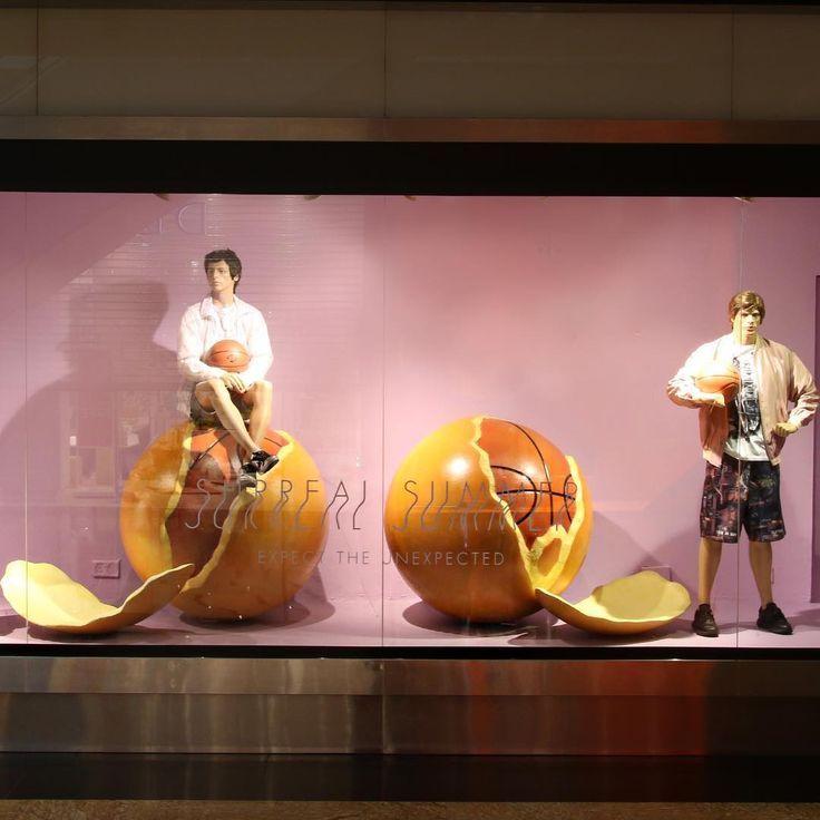 "HARVEY NICHOLS, Mall of the Emirates, Dubai, United Arab Emirates, ""EAT, SLEEP, PLAY BASKETBALL"", photo by Rhian Goudie, pinned by Ton van der Veer"