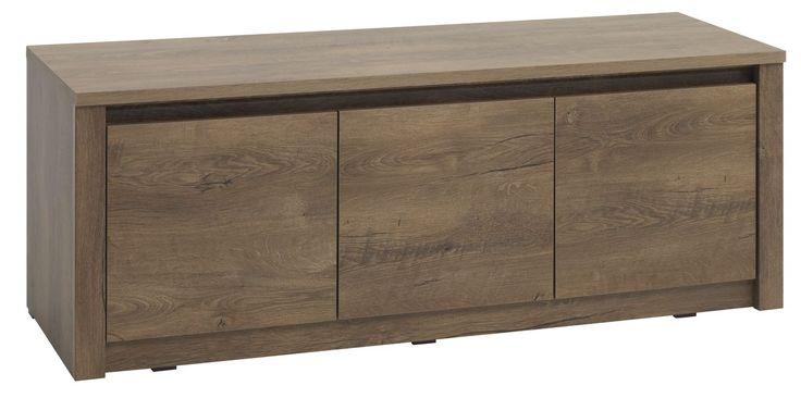 Banca VEDDE din stejar salbatic poate fi folosita intr-o varietate de scopuri: banca pentru hol, comoda TV si chiar masuta de cafea. | JYSK