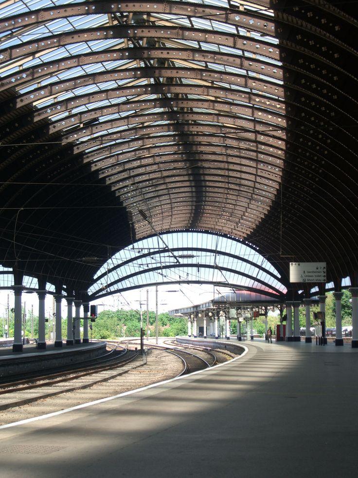 York train station, York England | York, England | Pinterest