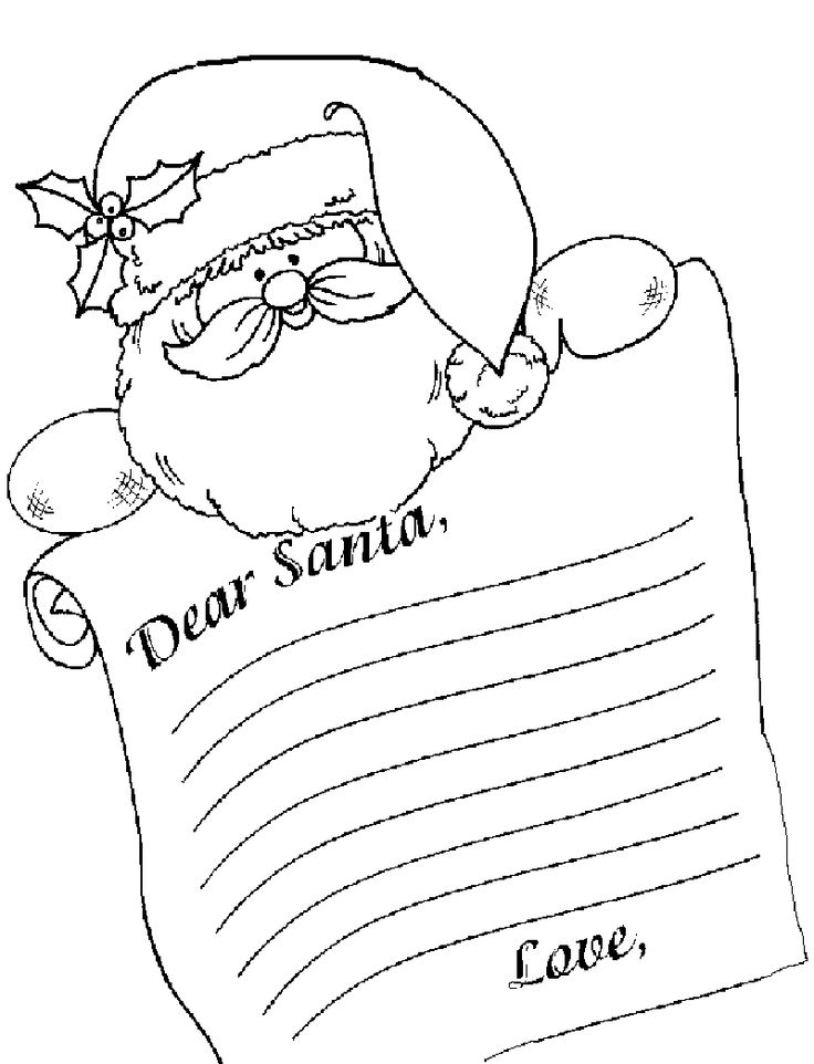 Santa Letterhead Template Invitation Templates puX6vdRX in