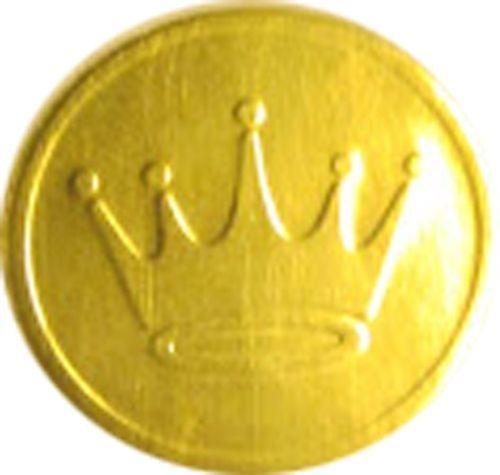 hallmark gold crown envelope seals  greeting card items