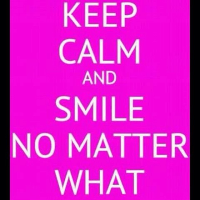 Keep Calm And Smile Quotes: The 25+ Best Keep Clam Ideas On Pinterest