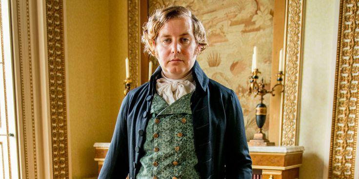 Christian Brassington as Reverend Osborne Whitworth - Poldark