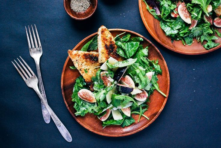 Fig season is fleeting -- embrace it with open arms. Seek out the ripest figs you can find, then pilethem high in a salad that's fit for fall.