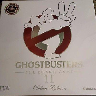 GHOSTBUSTERS II 2 BOARD GAME - Kickstarter Proton Slinger + Vigo Variant IN HAND