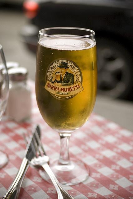 Moretti, Birra Moretti, beer