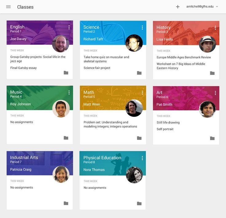 Classroom Design App : Google debuts classroom ui design item etc pinterest