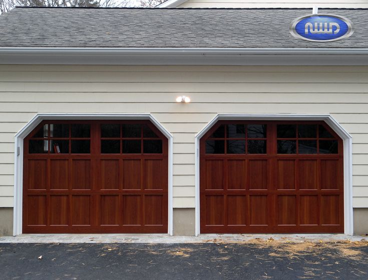 13 best images about infinity classic wood grain for Wood grain garage doors