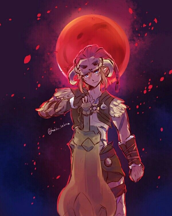Bring it on blood moon. Breath of the Wild