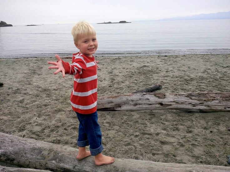 Witty's Lagoon is a fantastic #beach to visit on #vancouverisland even in the Fall.  The days are mild, the beach is nearly empty, and possible shenanigans are endless