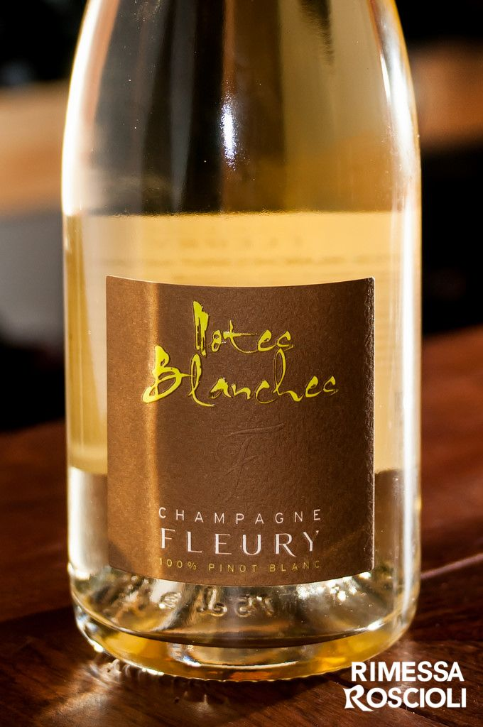 Brut Nature 'Notes Blanches' (Pinot Blanc), Fleury a Courteron
